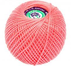 """Нитки для вязания """"Ирис"""". Цвет 1012 красно-розовый"""