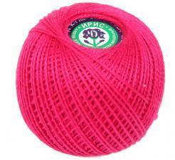 """Нитки для вязания """"Ирис"""". Цвет 1112 малиновый"""