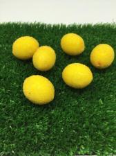Лимон в сахаре декоративный,27 мм,1 шт.