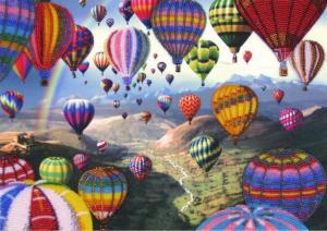 Butterfly | Полёт воздушных шаров. Размер - 37 х 26 см.