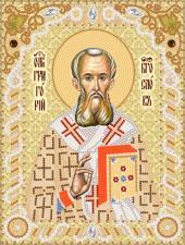 Святой Григорий Богослов. Размер - 18 х 24 см.