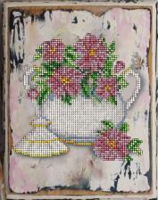 Краса и творчество | Цветы 15. Размер - 16,7 х 21,1 см