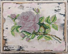 Краса и творчество | Роза. Размер - 21,1 х 16,7 см