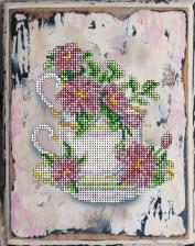 Краса и творчество | Цветы 14. Размер - 16,7 х 21,1 см