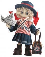 """Набор для шитья текстильной каркасной куклы """"Бэкки""""."""