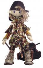 "Набор для шитья текстильной каркасной куклы ""Сафари.Брат 2""."