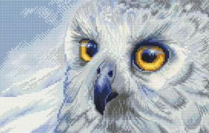 """Набор для вышивания """"Полярная сова""""."""