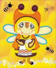 """Набор для вышивания бисером """"Бабушка Пчела"""""""
