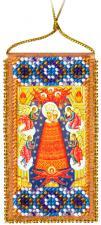 """Набор-оберег для вышивки бисером на натуральном художественном холсте """"Молитва о помощи в учении"""""""