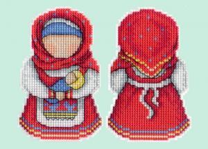 """Набор для вышивания на пластиковой канве """"Оберег. Материнство""""."""