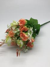 Букетик с розами.