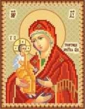 "Икона Божией Матери ""Троеручица"". Размер - 13 х 16 см."