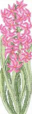 Набор для вышивания крестом Crystal Art Весенний модерн. Размер - 7 х 25 см.