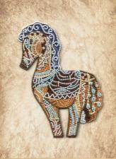 Новая Слобода | Дивная лошадь. Размер - 22 х 28 см