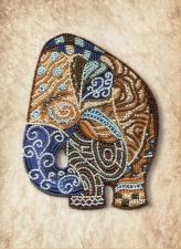 Новая Слобода | Индийский слон. Размер - 22 х 28 см