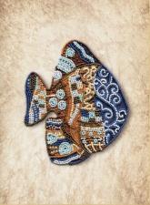 Новая Слобода | Пёстрая рыба. Размер - 22 х 28 см
