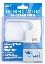 Лупа бифокальная с подсветкой для портмоне Mighty Bright