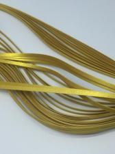 Бумага для кручения (металлик бронза). Размер 5 мм