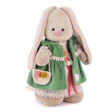 Зайка Ми Зелёная Полынь, мягкая игрушка BudiBasa, 25 см