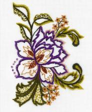 Риолис | Цветочный этюд. Размер - 15 х 18 см