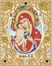 Жировицкая икона Божией Матери. Размер - 14 х 18 см.