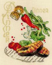 Риолис | Обед. Размер - 15 х 18 см