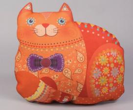 """Декоративная подушка """"Кошка"""""""