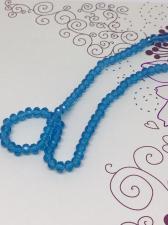 Бусины Rondelle на нитке, 6 мм, цвет 307