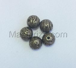 Бусины металлические (бронза),КМ111,5 шт