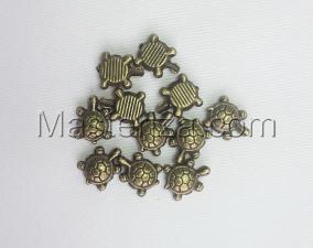 Бусины металлические (бронза),КМ119,10 шт