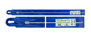 """""""Gamma"""" Крючок для тунисского вязания с ограничителем SH1, d 3.0 мм"""