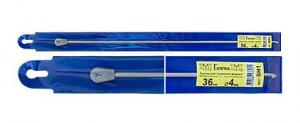 """""""Gamma"""" Крючок для тунисского вязания с ограничителем SH1, d 4.0 мм"""