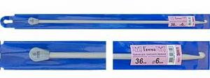 """""""Gamma"""" Крючок для тунисского вязания с ограничителем SH1, d 6.0 мм"""