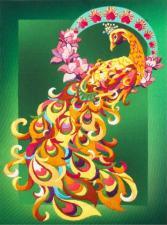 "Набор Olanta (стиль Rococo) ""Птица счастья"". Размер - 21 х 28 см."