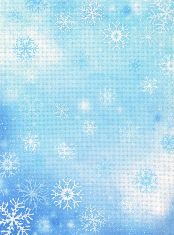 красишь картинка фон голубой со снежинками часто писала
