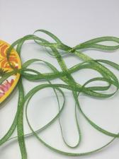 Лента атласная с люрексом,Skroll,6 мм,цвет №019