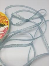 Лента атласная с люрексом,Skroll,6 мм,цвет №068