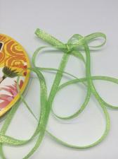 Лента атласная с люрексом,Skroll,6 мм,цвет №159
