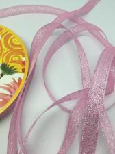 Лента атласная с люрексом,Skroll,12 мм,цвет №004