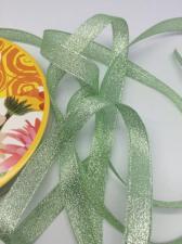 Лента атласная с люрексом,Skroll,12 мм,цвет №171