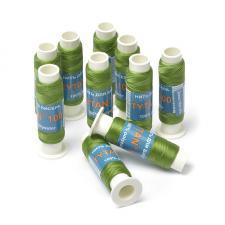 Нить для бисера TYTAN,цв. зелёный,100 м,1 шт