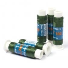 Нить для бисера TYTAN,цв. тёмно-зелёный