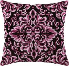 """Набор для вышивания подушки """"Королевская роза"""". Размер - 40 х 40 см."""