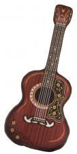 """Подушка """"Гитара"""". Размер - 31,5 х 68 см."""
