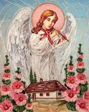 Butterfly | Песня ангела (по картине А.Охапкина). Размер - 27 х 34 см.
