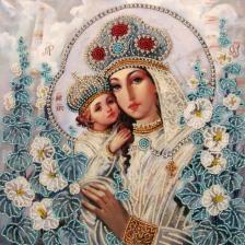 Butterfly | Мария и Христос (по картине А.Охапкина). Размер - 27 х 27 см.