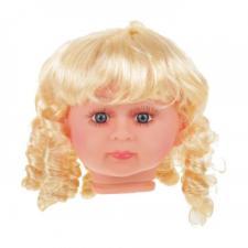 Парик с локонами,размер большой,цвет:Р02 (блонд),диаметр 12 см