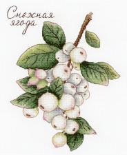 Дары природы. Снежная ягода. Размер - 15 х 20 см.