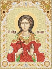 Святая мученица Вероника (Виринея) Едесская. Размер - 18 х 24 см.
