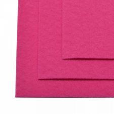 Фетр листовой жёсткий IDEAL,20 х 30 см,1 мм,цвет 609 ярко-розовый